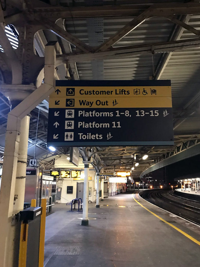 Network Rail signs
