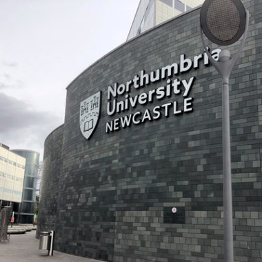 Northumbria University Signage