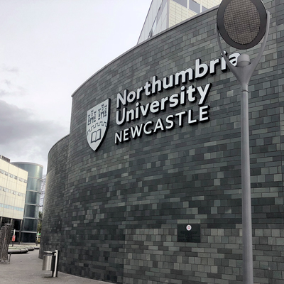 Northumbria University Signage Rebrand