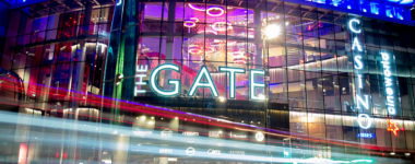 The Gate, Newcastle signage